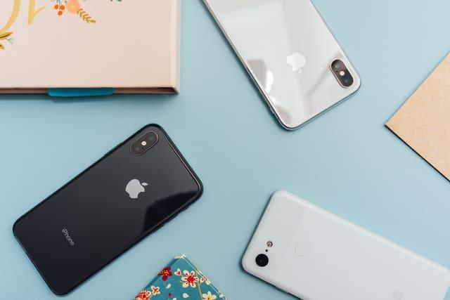 3種類のiPhone